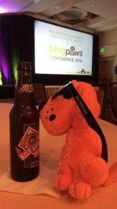 BlogPaws Swag Orange Puppy