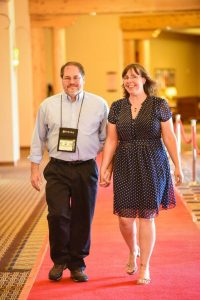 Michael & I on the Red Carpet at BlogPaws image by by Annabelle Denmark Photography